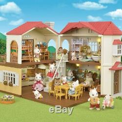 CALICO CRITTERS Red Roof Country Home Gift Set Factory Sealed Kids Playset NEW