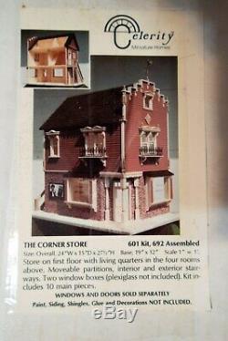 Celerity Minature Homes, The Corner Store, 601 kit, doll house, NIB