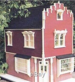 Celerity Miniature Homes THE CORNER STORE KIT 106 Dollhouse Miniatures NIB