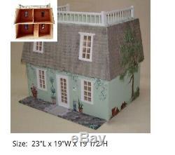 Celerity Miniatures MANSFORD ROOF COTTAGE W PORCH KIT 2001 Dollhouse Miniatures