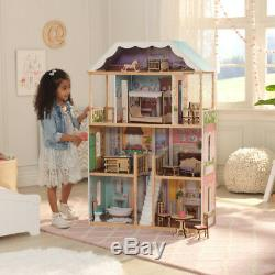 Charlotte Dollhouse with Furniture and Accessories by KidKraft