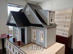 Clarkson Craftsman Cottage 112 Dollhouse Kit