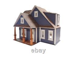 Clarkson Craftsman Cottage Dolls House 124 Half Inch Scale Flat Pack Kit