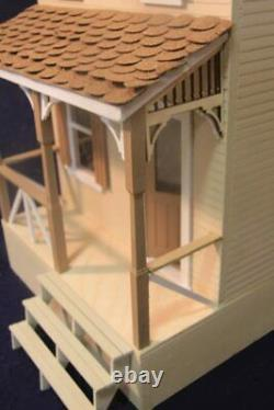 Clarksville 1 Inch Scale Dollhouse Kit By Majestic Mansions