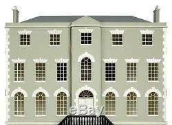 Country Manor Dolls House Kit with 8 Rooms 112 Scale Flat Pack MDF Kit MJ26