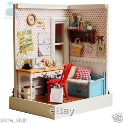 DIY Handcraft Dolls House Miniature The Fond Memories Kit Wooden Doll house