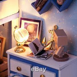 DIY Handcraft Miniature Project Dolls House Kit My Little Boys Star Trek Bedroom