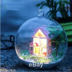 DIY Handcraft Miniature Project Kit Dolls House LED Sound Lights My Little House