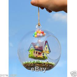 DIY Handcraft Miniature Project Kit The Flying Cabin Destiny Wooden Dolls House