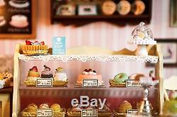 DIY Handcraft Miniature Project Kit The Sweet Berries Time Wooden Dolls House