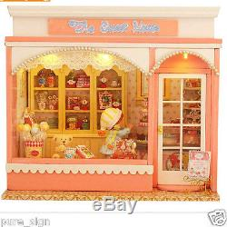 DIY Handcraft Miniature Project Kit The Sweet House Music Wooden Dolls house