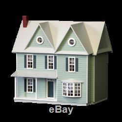 DOLLHOUSE MINIATURE Dollhouse HALF SCALE Farmhouse Kit HIGHEST QUALITY