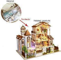 Doll House DIY Kit October Fairytale Large Villa Suite I've always loved you 45