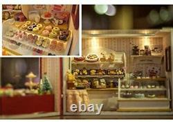 Doll House Handmade Kit European Travel Diary Bakery Miniature house Japan153
