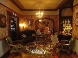 Doll House House of Broel By Artist Bonnie Broel House of all Seasons