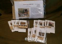 Doll House Miniature 1/4 Scale Wine Shop Kit and Accessories