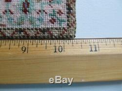 Dollhouse 112 Tabriz Hunt House of Miniatures Kit Needlepoint Rug Artisan Made