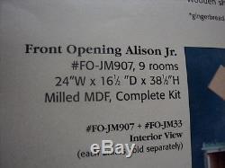 Dollhouse Alison Jr. Kit/ Front Opening/ Fo-jm907