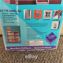 Dollhouse Kit Cambridge CA 750 Dura-Craft Brand New In Box Unopened Vintage