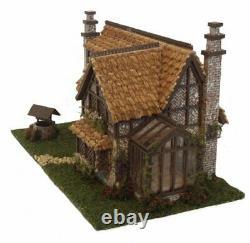 Dollhouse Miniature 1144 Scale Storybook Tattington Cottage House Kit Complete