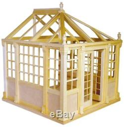 Dollhouse Miniature Conservatory Kit #HW9900