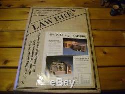 Dollhouse Miniature Lawbre Greenhouse Kit with Potting Shed Kit RARE NEW in Box