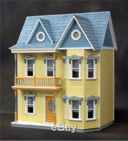 Dollhouse Miniature The Princess Anne Dollhouse Kit by RGT