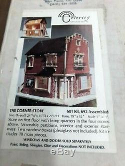 Dollhouse Miniatures Celerity Miniature Homes THE CORNER STORE KIT #106 NIB 112