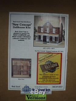 Dollhouse Vermont Farmhouse Kit #1401