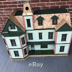 Dollhouse by Real Good Toys The Milled Plywood Bostonian Kit 90% Complete HUGE
