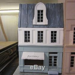 Dolls House 12th scale French Shop 3 Storeys Kit by DHD
