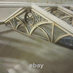 Dolls House 1/12 scale Large Conservatory Kit DOUBLE ENDED