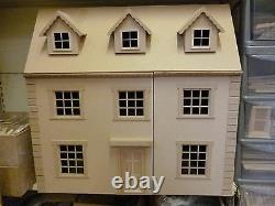Dolls House 1/12 scale The Grange 6 room House Kit 30 wide 15 deep by DHD