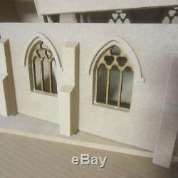 Dolls House 1/12 scale Village Church Kit Including Extension DHD039EX