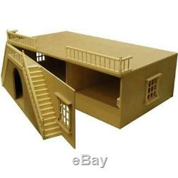 Dolls House Arch Front Basement Unpainted Flat Pack Kit 112 Scale
