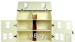 Dolls House MDF Wood Flat Pack Kit 112 Scale Haven Cottage MJ27