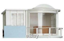 Dolls House Malibu Sun Lounge Modern Art Deco Kit Unpainted Flat Pack 112 Scale