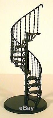 Dolls House Spiral Staircase Kit Metal 112 Scale Miniature Stairs