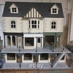 Dolls House York St Basement of 3 Shops suits any build. 1/12 scale kit