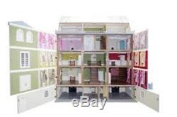 Downton Manor Dolls House & Basement Large Flat Pack Mansion Collector's MDF Kit