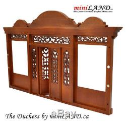 Duchess Quality wooden storefront facade 112 roombox dollhouse miniature WN