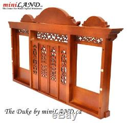 Duke Quality wooden storefront facade 112 roombox dollhouse miniature WN