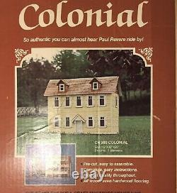 Dura-Craft Colonial Dollhouse Kit 1/12 Scale RARE FIND