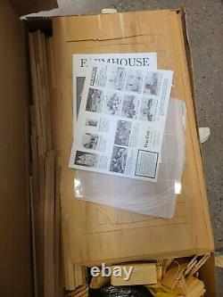 Dura Craft Farmhouse Doll House Fh-505 New Open Box