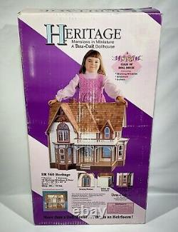 Dura Craft Heritage HR 560 Mansions in Minature Dollhouse 1991 Factory Sealed