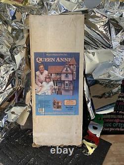 Dura Craft Queen Anne Mansion in Miniature Doll House Vintage QA575