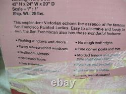 Dura Craft San Franciscan Mansion Dollhouse Kit Sf555