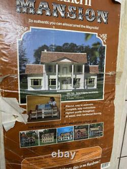 Dura-craft Southern Mansion 112 Scale Dollhouse Kit Never Used