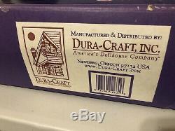 Duracraft Inc. Marquam Hill Mansion Kit #mr-625 American Dollhouse New