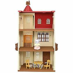 EPOCH Sylvanian Families House with red roof elevator limited JAPAN